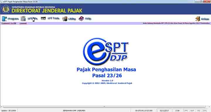 Download Aplikasi E Spt Masa Pph Pasal 23 Kja Sugeng